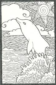 coloring pages dolphins gianfreda net