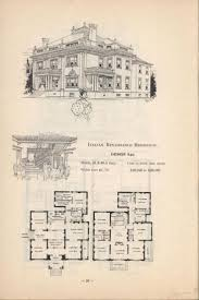 Vintage Home Plans Original Victorian House Floor Plans
