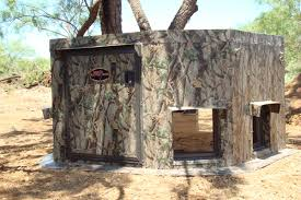 Ground Blinds For Deer Hunting N Ground Blind Detail 01 Mb Ranch King Blinds