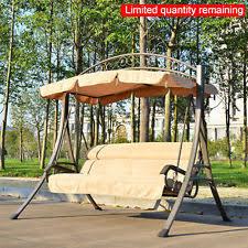 kids swinging bench swing seat chair hammock canopy childrens