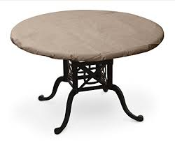 48 round teak table top amazon com koverroos iii 37360 32 inch round table top cover 36