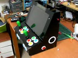 Tabletop Arcade Cabinet Mame Tabletop Arcade Portable Youtube