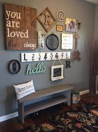 Wood Gallery Shelves by Best 25 Wall Collage Ideas On Pinterest Picture Wall Hallway