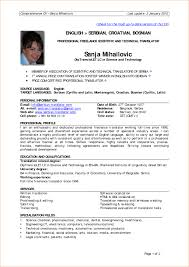 Sample Resume For Early Childhood Educator by Sample Resume For Experienced Candidates Free Resume Example And