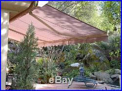 Manual Retractable Awning Patio Awnings Canopies And Tents Sequoia