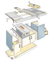 table saw station plans woodworking plans table saw station woodworking projects plans