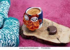 Salep Pink delicious sahlep salep cinnamon cocoa owl stock photo royalty free