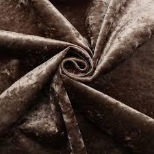 Crushed Velvet Fabric Upholstery Fire Retardant Luxury Soft Plush Crushed Velvet Glitz Upholstery