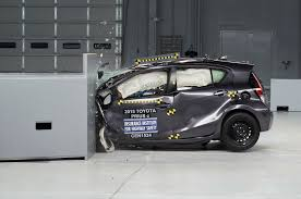 cm toyota 2015 toyota prius c rated iihs top safety pick after structural fix