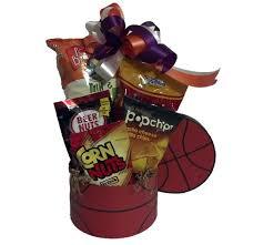 basketball gift basket basketball fan sports gift basket m r designs giftsm r designs
