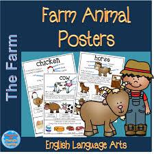 themed posters farm animal themed posters teacha