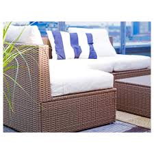 Ikea Patio Furniture Canada - arholma back cushion outdoor beige 45x60x5 cm ikea