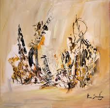 Tableau Abstrait Rouge Et Gris by Tableau Peinture Abstraite Marron D U0027ame Sauvage
