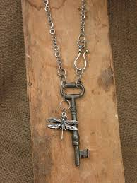 long chain key necklace images Best 25 key pendant ideas key keys and vintage keys jpg