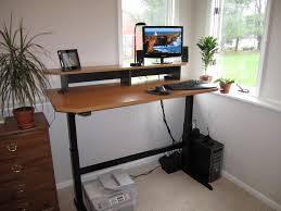 Convert Sitting Desk To Standing Desk by Cheap Standing Desk Converter Best Home Furniture Decoration