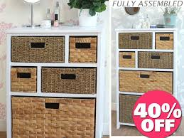 Bathroom Wicker Shelves by Bathroom Wicker Bathroom Storage 40 Bathroom Storage Wicker