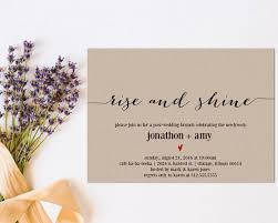 post wedding brunch invitation newlywed brunch invitation printable modernsoiree