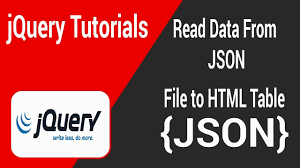 convert json to html table read data from json file to html table youtube
