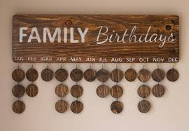 family birthday board unique gifts for guys