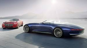 vision mercedes maybach 6 cabriolet is the ev quintessence of elegance