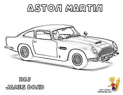 aston martin coloring pages funycoloring