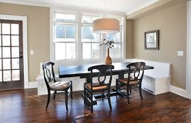 elegant banquette bench innovative designs for dining room shabby chic