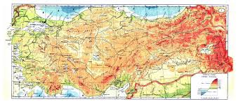 Physical Maps Maps Of Turkey Detailed Map Of Turkey In English Tourist Map