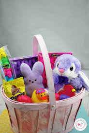 peeps easter basket 40 easter basket ideas and peeps giveaway crafty