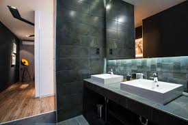 Loft Bathroom Ideas by Modern Loft With Surprising Elements