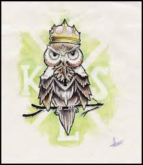 owl tattoo design by kartesh on deviantart