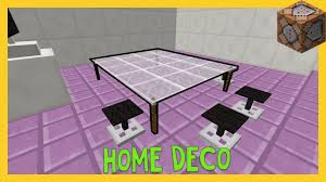 minecraft home decorations in only two command blocks youtube