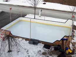 backyard ice rink design backyard ice rink u2013 delightful outdoor