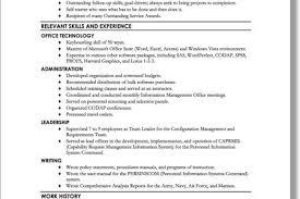 Resume For Military Resume For Military Retiree
