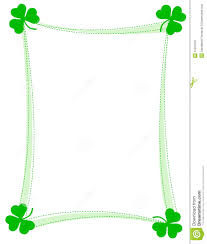 st patrick u0027s day clipart st patrick u0027s day border clipart pencil