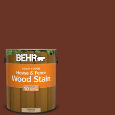 behr 1 gal sc 118 terra cotta solid color house and fence wood