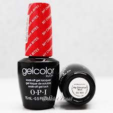 opi gelcolor gc m21 my chihuahua bites 15ml uv led gel polish