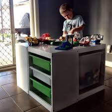 duplo table with storage 40 awesome storage ideas the organised housewife