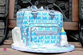 michael baby shower michael kors bag baby shower cake clothes