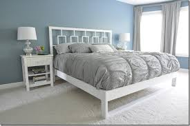 simple bedframe tutorial u2014 decor and the dog