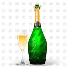 champagne clipart champagne bottle and wineglass vector clipart image 47604 u2013 rfclipart