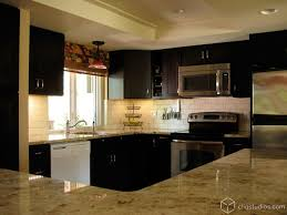 Black Kitchen Cabinets by Black Kitchen Cabinets Contemporary Kitchen Seattle By