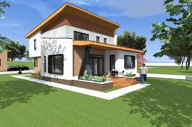 sq ft to sq m modern house design 197 square meters 2120 square feet archicad