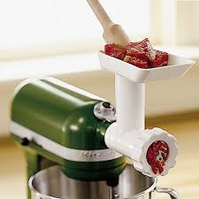 Used Kitchen Aid Mixer by Kitchenaid Stand Mixer Food Grinder Attachment Williams Sonoma