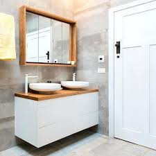 mesmerizing bathroom vanity seatrecycled timber top bench block