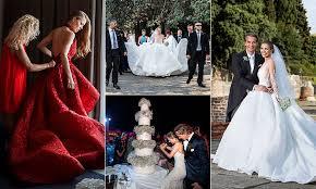 inside victoria swarovski u0027s spectacular wedding all the photos