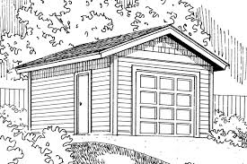 traditional house plans 1 car garage 20 045 associated designs