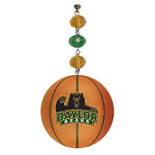 baylor basketball set of 3 magnetic ornament
