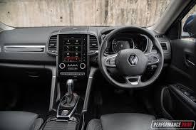renault koleos 2017 interior 2017 renault koleos intens 4x4 review video performancedrive