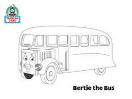 bertie bus coluring thomas u0026 friends games
