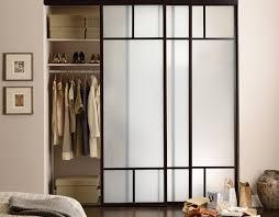 Mirror Closet Door Repair Mirror Sliding Closet Doors Asian Inspired Black Framed Bedroom